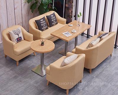 西式餐厅桌椅_型号WR016