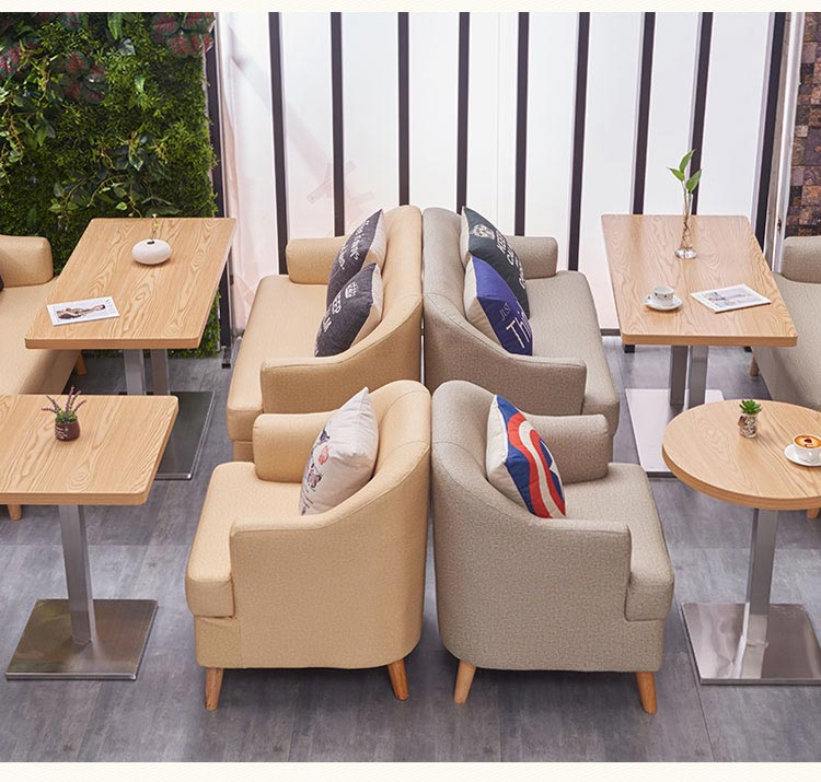 西式餐厅桌椅装修效果图