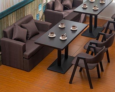 西餐厅用桌椅_型号WR017