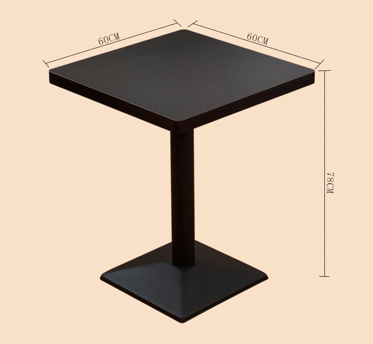西餐厅用餐桌尺寸参数