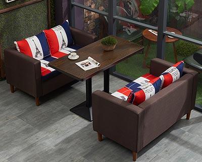 西餐厅桌椅沙发_型号WR018