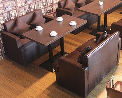 时尚西餐厅桌椅_型号WR019