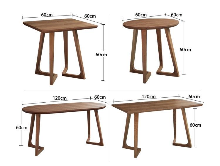 西餐店桌子尺寸参数