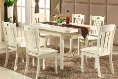 6人西餐厅桌子尺寸是多少?