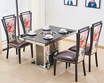 【玻璃火锅桌椅厂家批发】_玻璃火锅桌椅价格_玻璃火锅桌椅图片