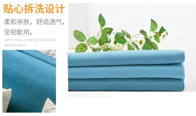 休闲卡座沙发可拆洗设计