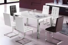 钢化玻璃快餐桌有哪些优点?