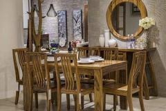 实木餐桌椅的定期保养
