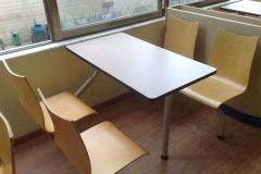 防火板快餐桌椅常见问题处理方案