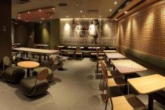 麦当劳快餐桌椅怎么摆?摆多少座位?