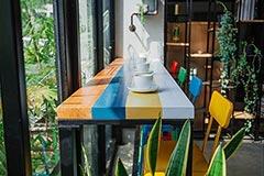 家庭餐厅吧台