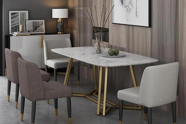 时尚现代餐厅桌椅
