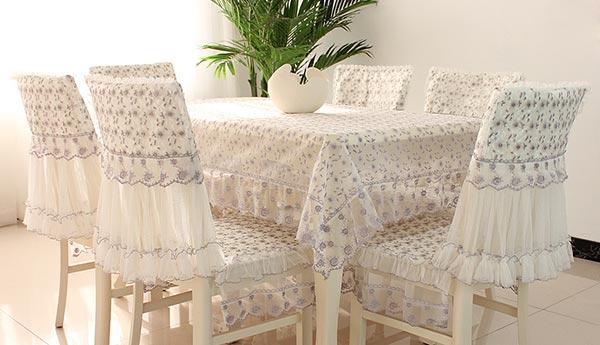 蕾丝绣花桌布