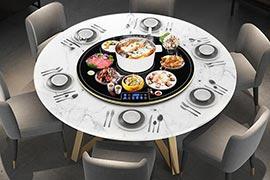旋转火锅桌多少钱一台?