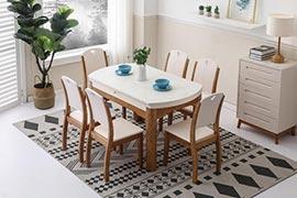 北欧伸缩餐桌哪家好?