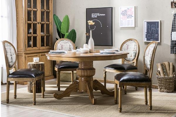 高档西餐厅用餐桌椅