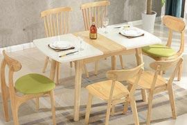 折叠式餐桌有哪些款式?