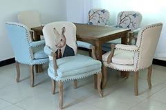 欧式全实木餐椅生产厂家