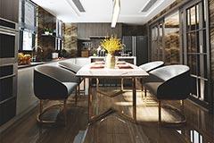 餐厅桌椅定制家具厂