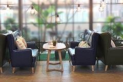 咖啡厅沙发定做厂家
