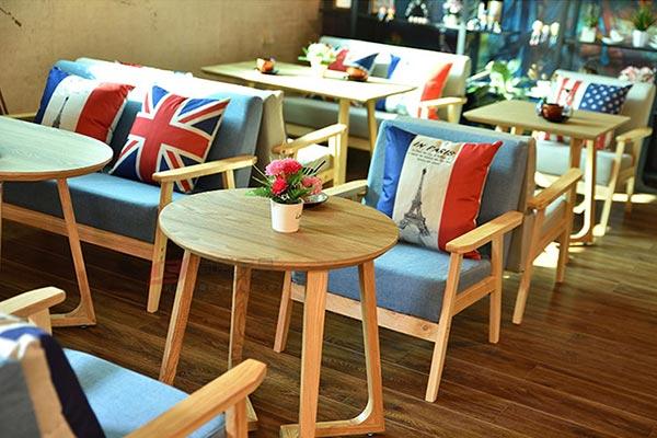 餐厅沙发卡座图片