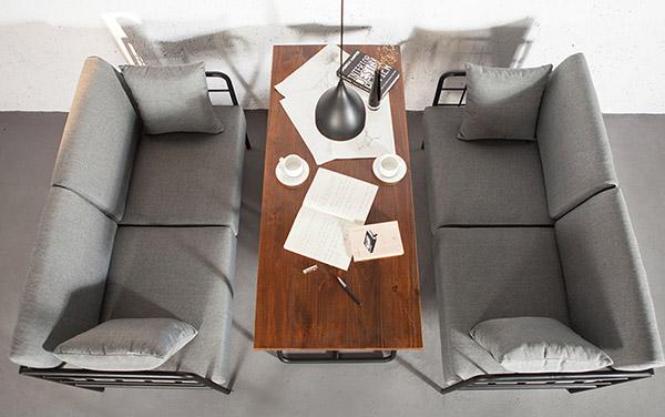 酒吧卡座沙发图片
