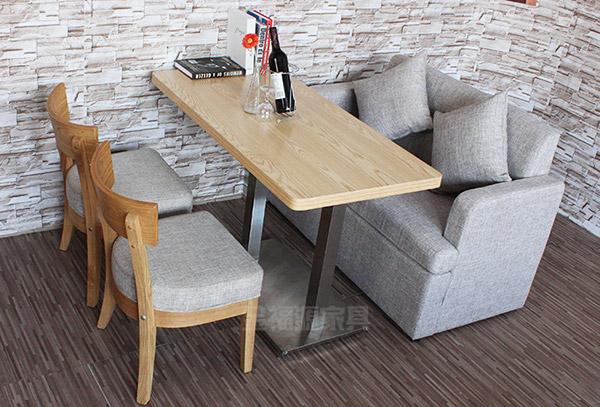 快餐店桌椅图片