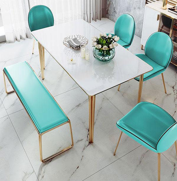 时尚餐厅桌椅图片