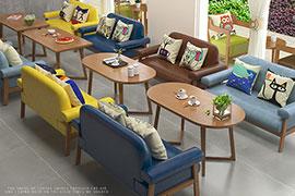 咖啡厅桌椅定制厂家
