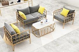 现代卡座沙发款式