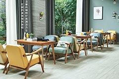 咖啡厅卡座沙发桌椅订购