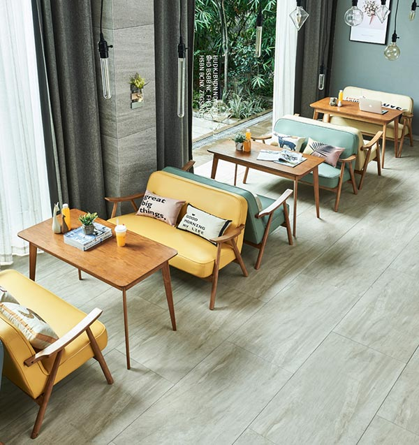 咖啡厅卡座沙发桌椅图片