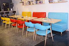 餐厅卡座沙发颜色要怎么选择?