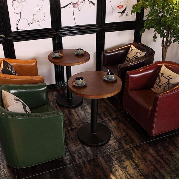 西餐厅卡座沙发图片