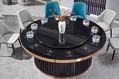酒店火锅餐桌椅