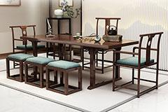 茶楼桌椅组合