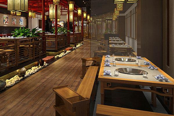 火锅桌子图片