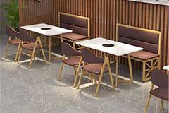 餐厅火锅桌