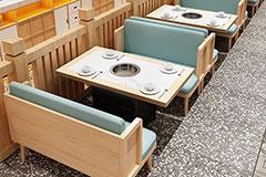 火锅店餐桌
